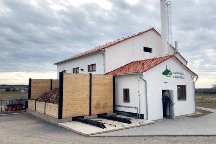 Obr. 1 Pohľad na budovu kotolne v Dukovanoch