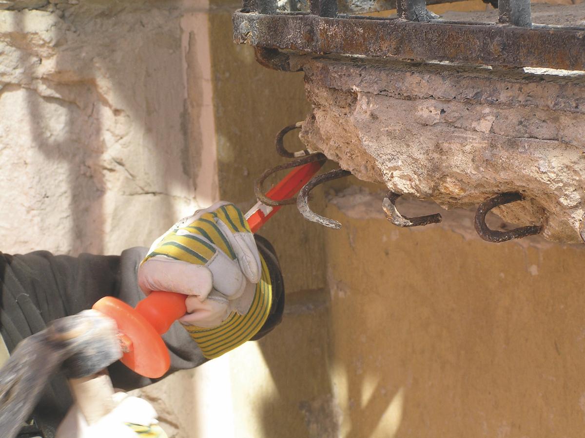 01 | Očistenie betónovej dosky