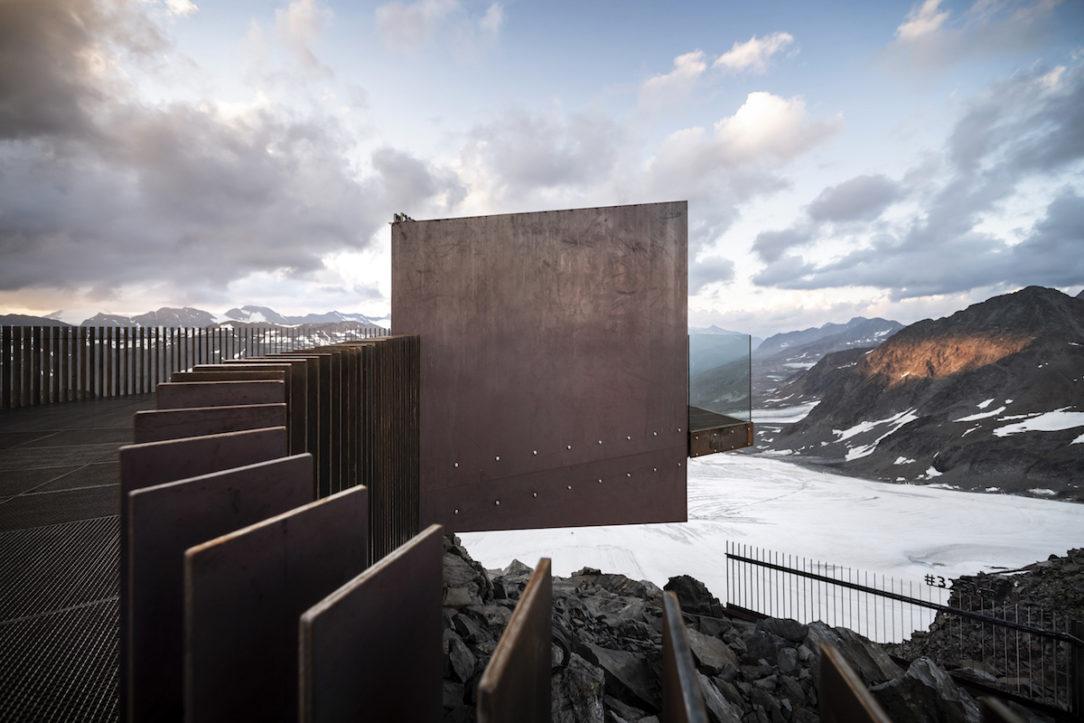 Rozhľadňa Ötzi Peak.