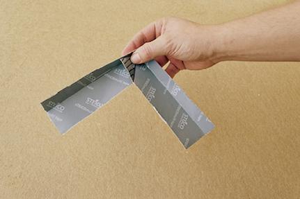 04 | Vytvorenie rohu z pásky