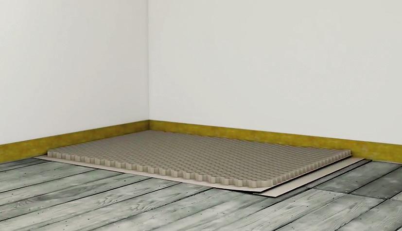 04 | Kladenie podlahovej voštiny