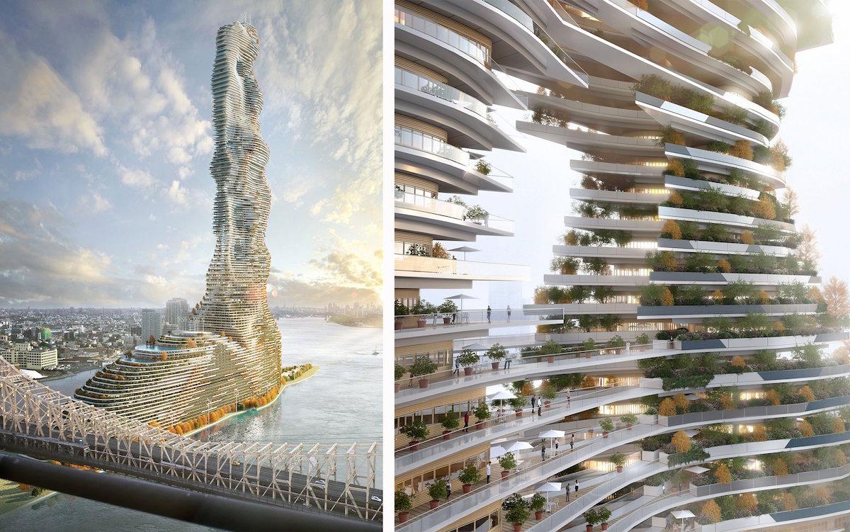 Mandragora je nielen ambiciózny projekt s environmentálnym presahom, ale mal by ponúknuť obyvateľom New Yorku luxusné bývanie s terasami plnými zelene a súkromných bazénov.