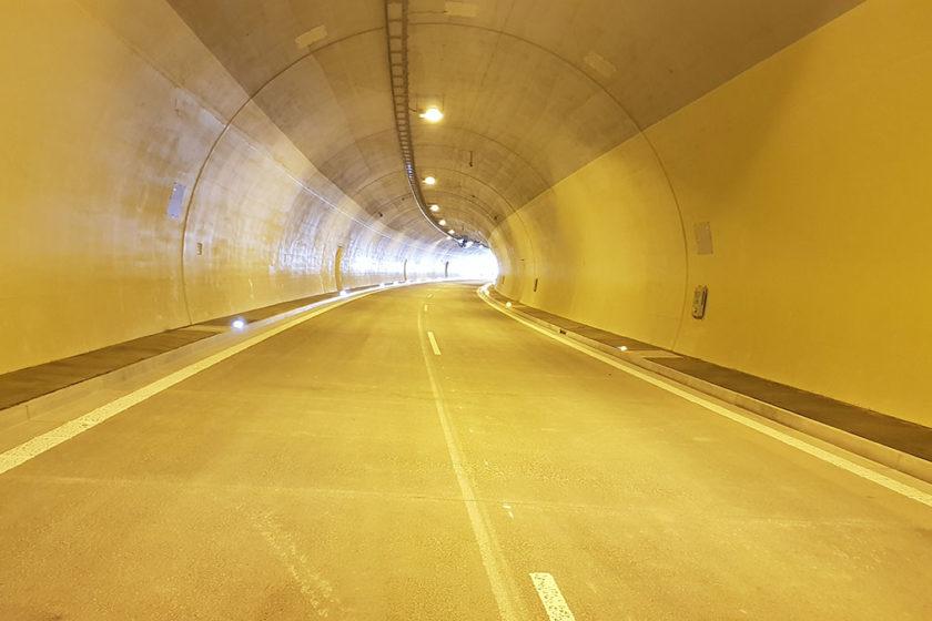 Obr. 4 Tunel pripravený na užívanie