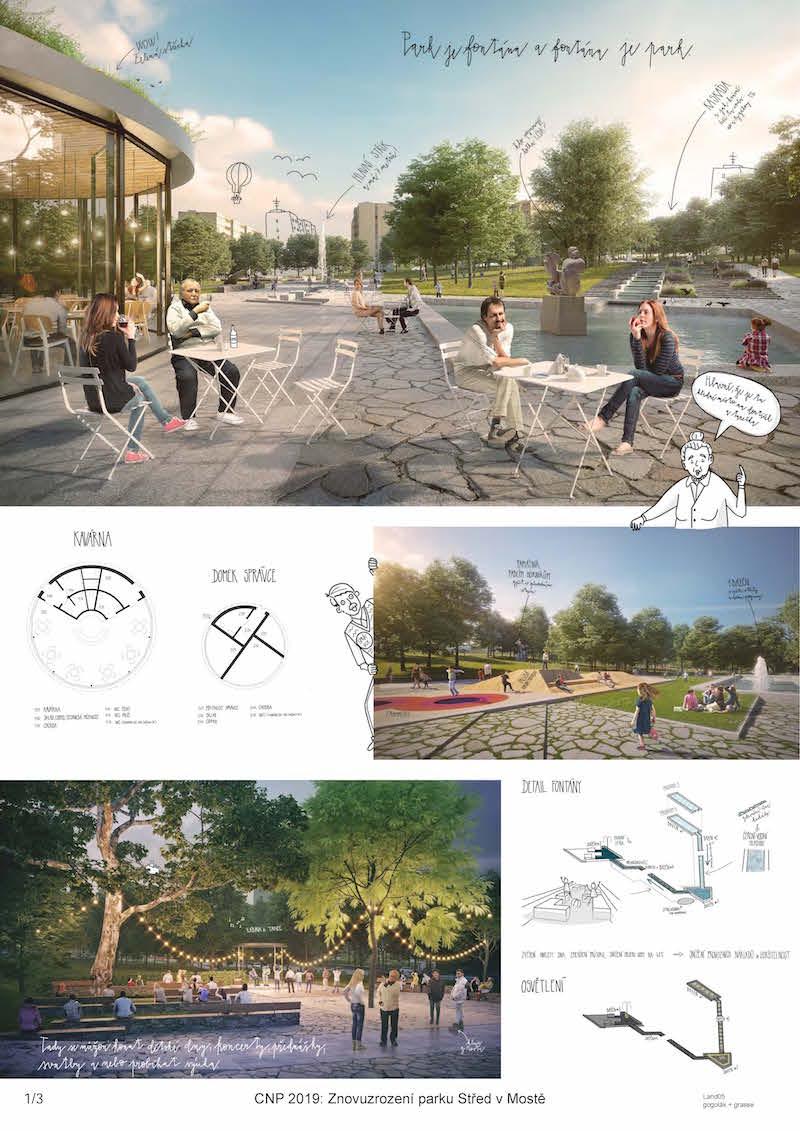 2. miesto – park je fontána a fontána je park.