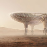 Crystal Space City the Mars CAA architects