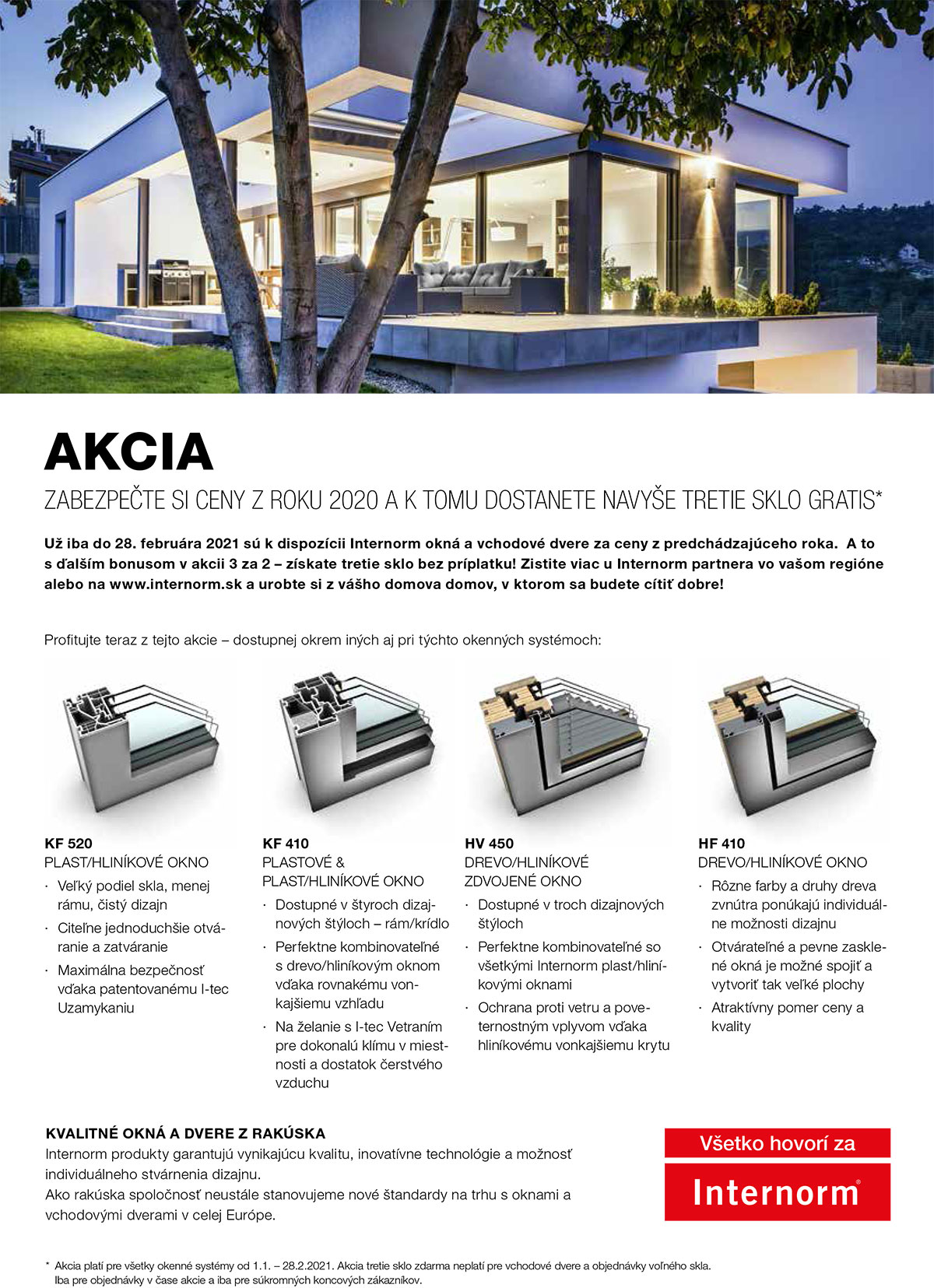 Internorm akcia2021 screen 2