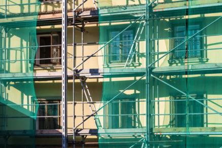 renovácia historickej budovy, renovácia fasády