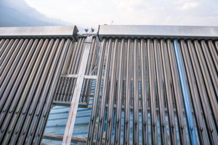solárne panely strecha ohrev