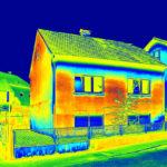 termovízia tepelná mapa