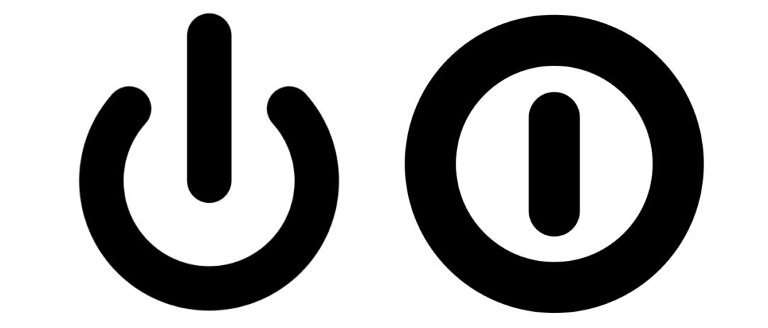 standby off symbols