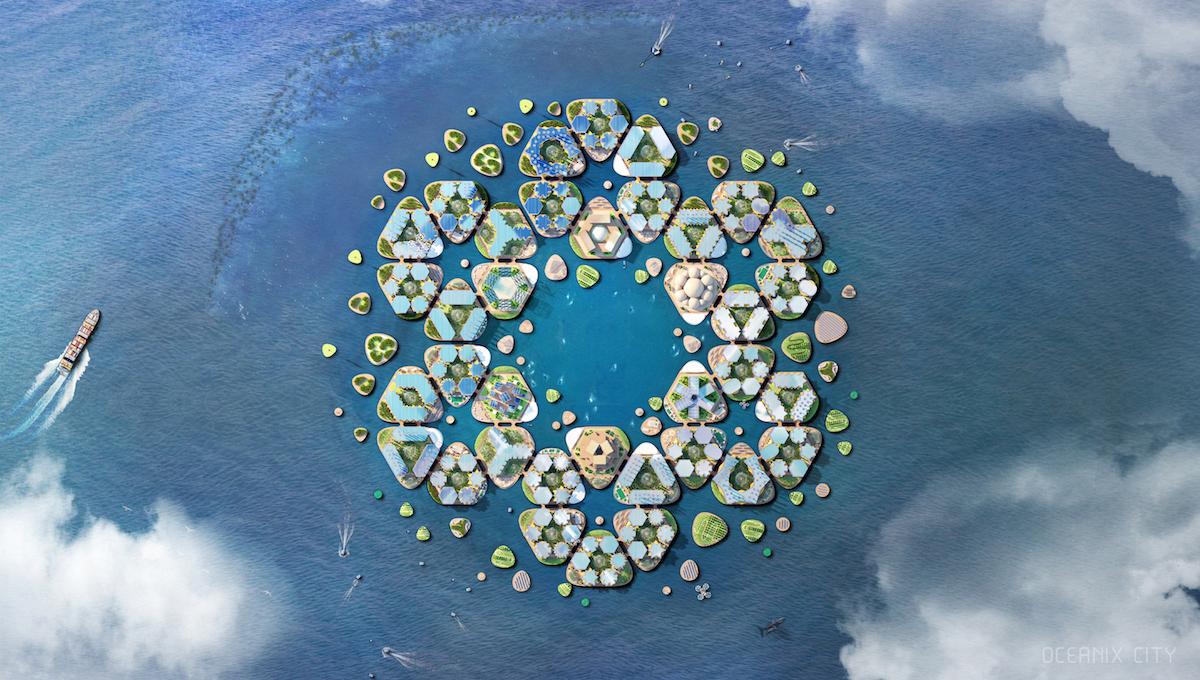 KOceanixu by časom mohli pribúdať ďalšie ostrovy.