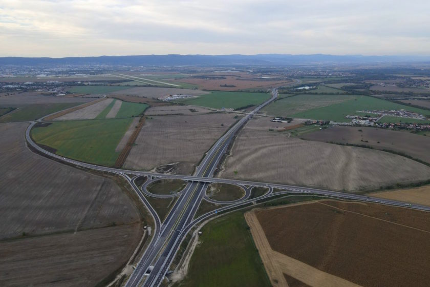 Diaľnica D4 v úseku Vrakuňa – Ivanka pri Dunaji