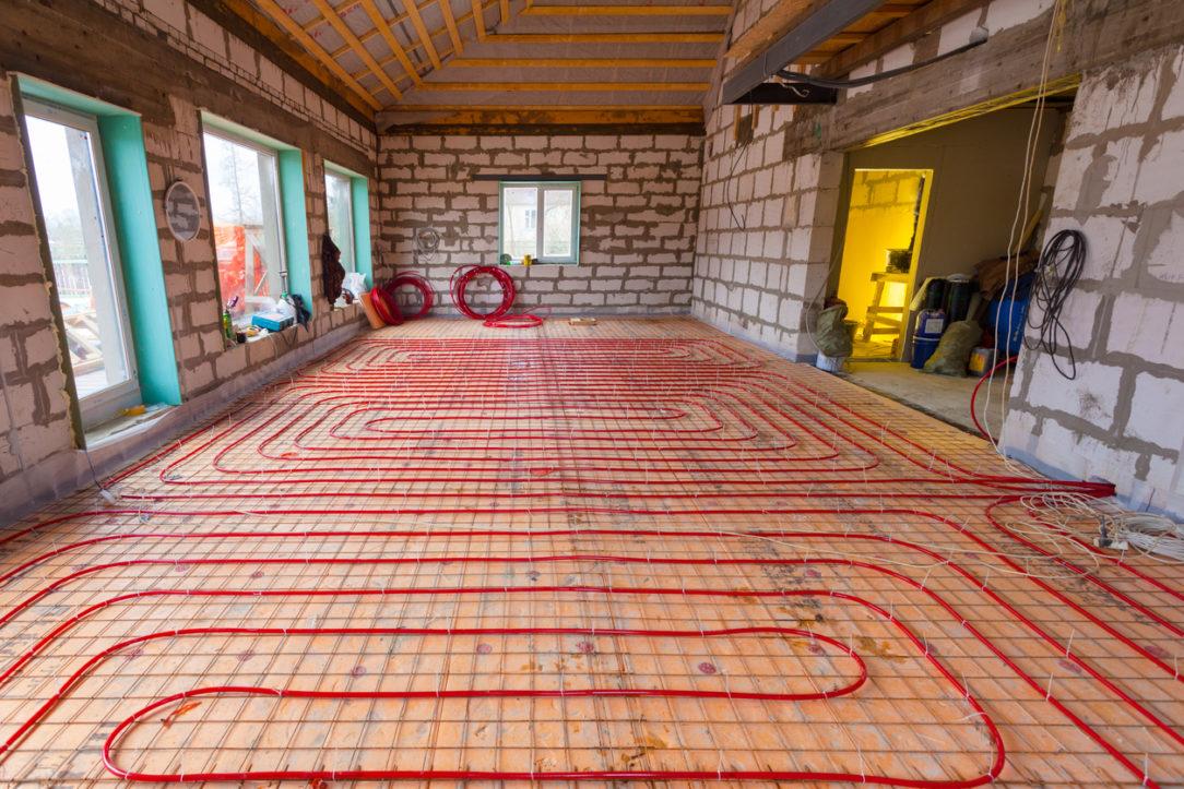 Inštalácia vodného podlahového kúrenia