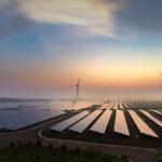 Solárna a veterná energia v Číne