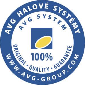 AVG logo kruh modry
