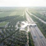Lokalita návrhu je v blízkosti diaľnice kvôli lepšej dostupnosti.