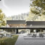 Vizualizácia novej budovy Snežienky na Železnej Studničke.