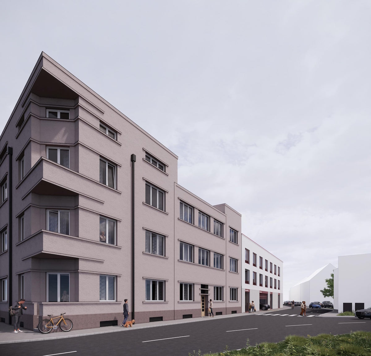 Predbežný plán je postaviť 60 nájomných bytov.