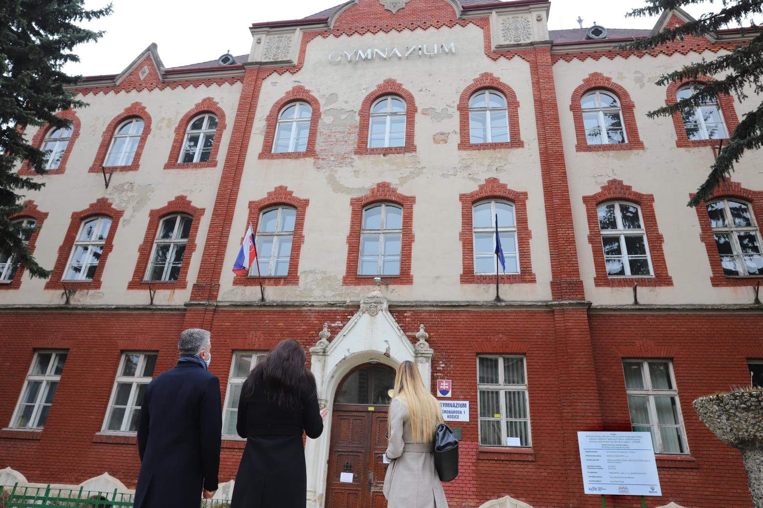 Budova Šrobárky bola postavená v rokoch 1892 až 1894.