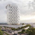 Veža ponúka výhľady do širokého okolia, smerované do prístavu a do centra mesta Linz.