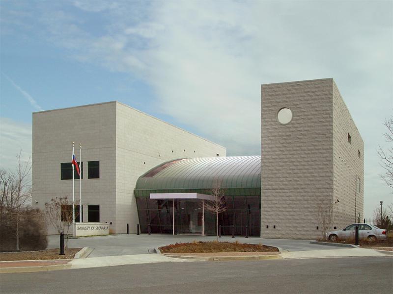 Ambasáda SR vo Washingtone D.C., (2001) – víťaz súťaže; spoluautori: M. Bogár, Ľ. Králik, Ľ. Urban, P. Lizoň. Investor: MZV SR.
