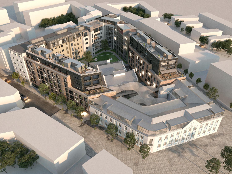 Elektráreň Žilina (model, spoluautori Juraj Závodný a Miro Beňadik), revitalizácia a dostavba mestského bloku (návrh 2020). Investor: Istrofinal.