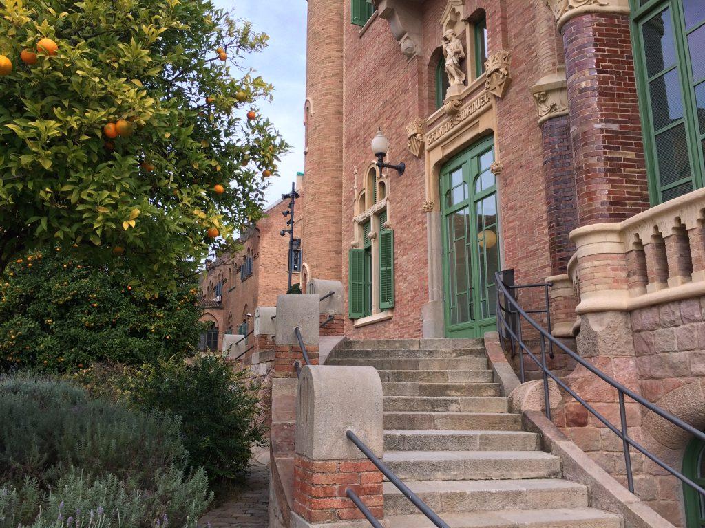 Nemocnica Sant Pau v Barcelone, ktorá funguje od roku 2009.