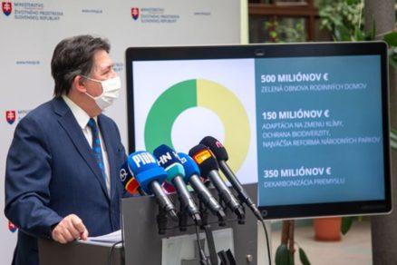 Ján Budaj 2021 Zelená obnova