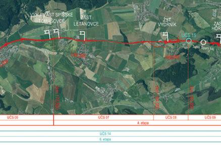 Obr. 1 Riešený rozsah stavby