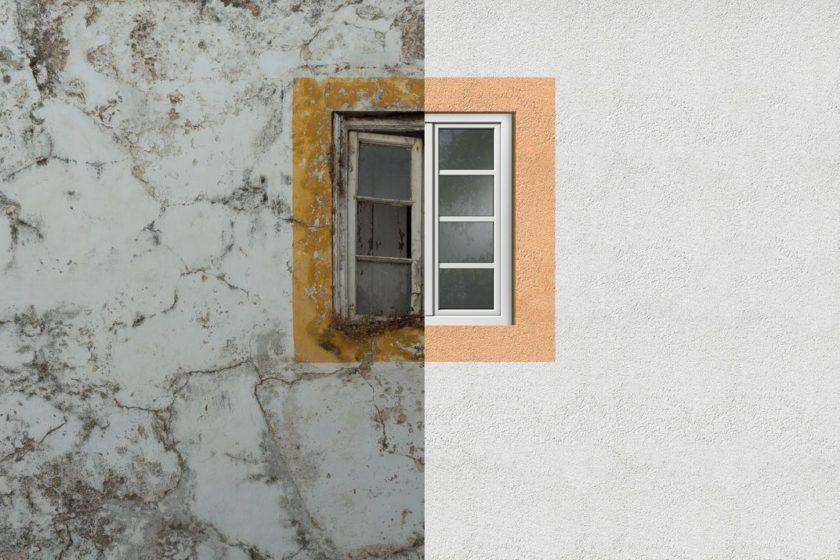 Renovácia okien a fasády