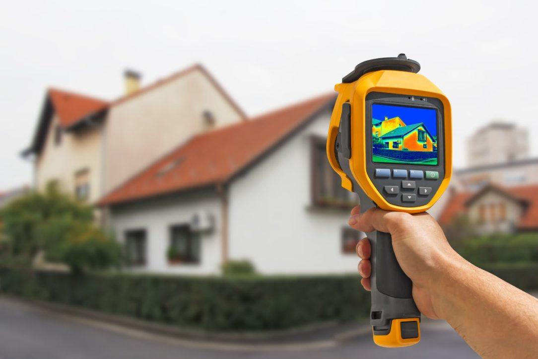 Hľadanie tepelných strát termokamerou