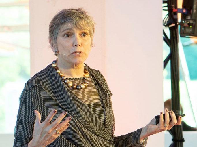 Americká kritička a teoretička architektúry Sarah Williams Goldhagenová.