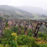 Most nad najhlbším kaňonom v Európe