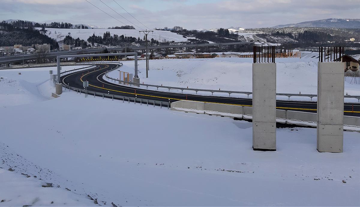 02 Spojovacia vetva na križovatke Lietavská Lúčka s mostným objektom SO 211 00 súčasť stavby D1 LL VI DS