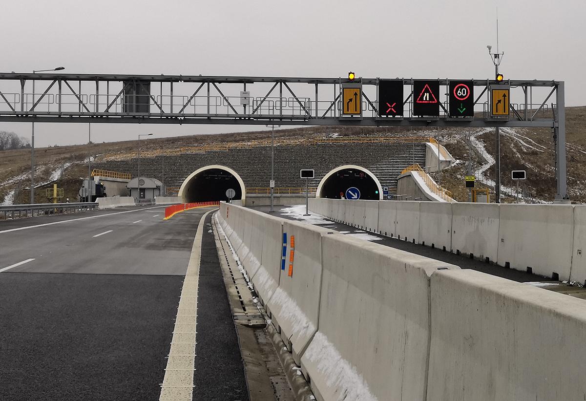 03 Premenné dopravné značenie na ZP tunela Žilina