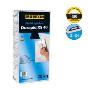 Jemná hladená stierka Durapid XS 40