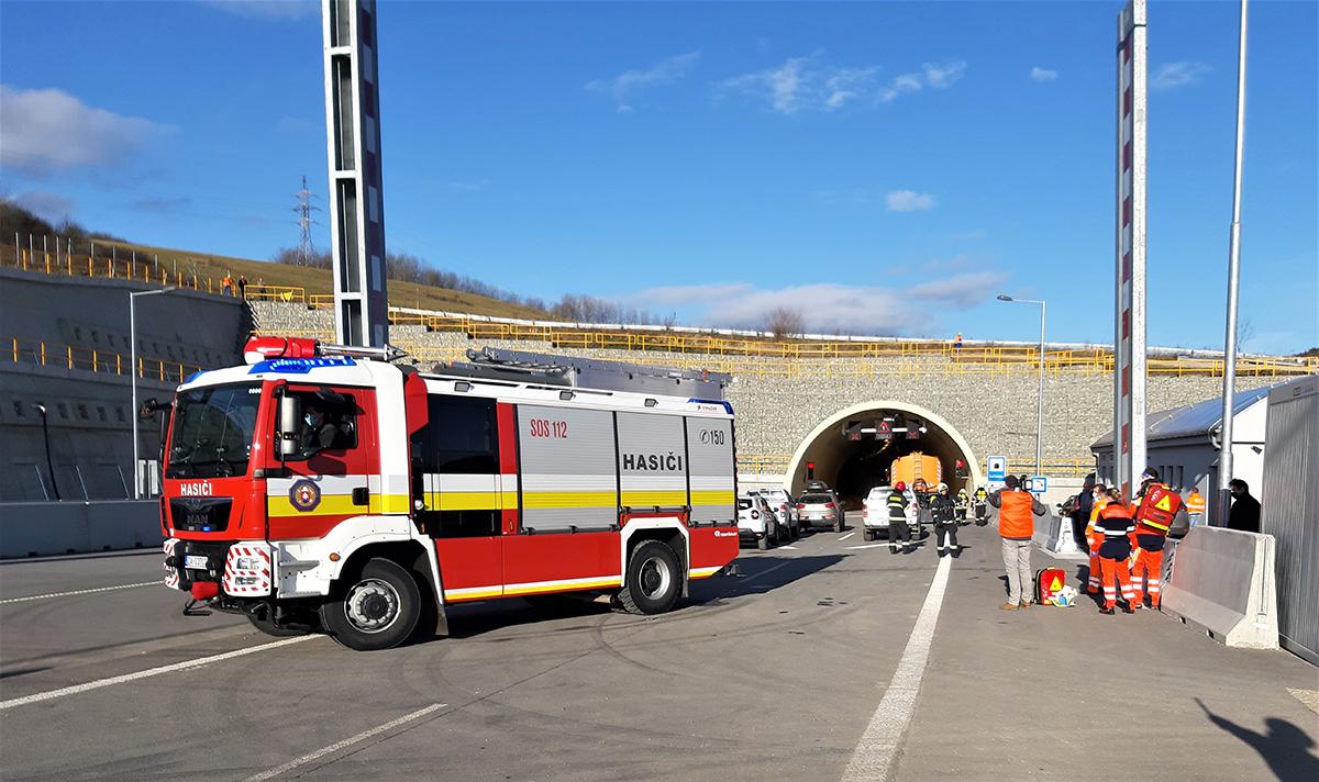 05 Taktické cvičenie zložiek IZS na tuneli Ovčiarsko 1