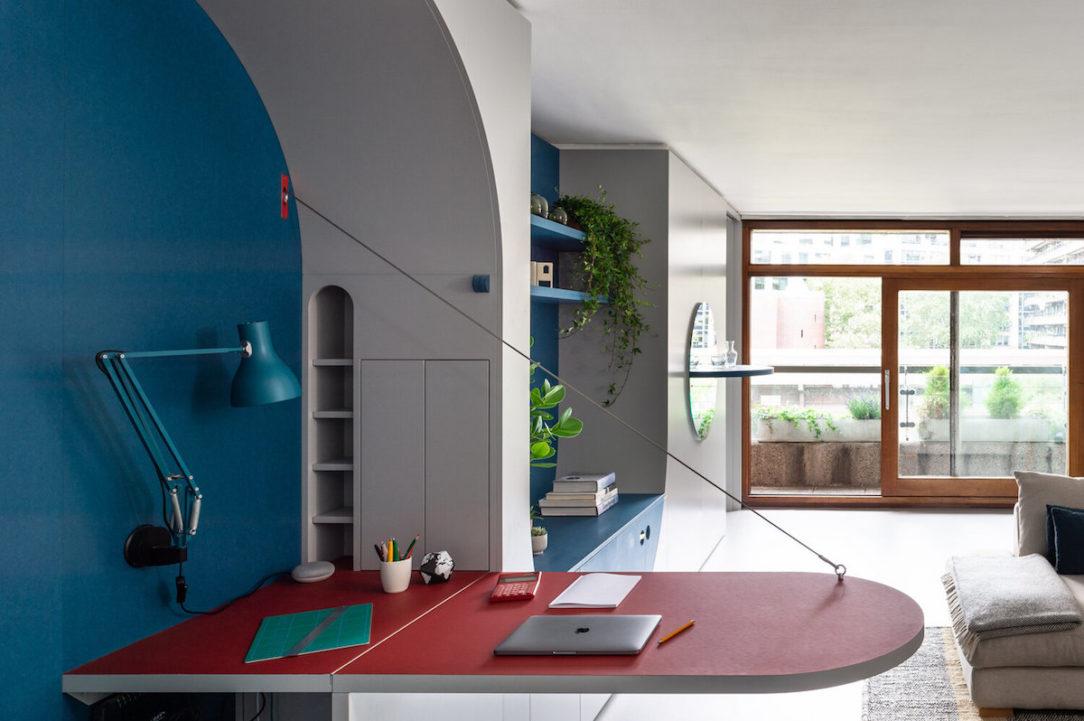 Premena jednoizbového bytu na komfortné bývanie