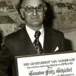 friedrich schiedel certificate