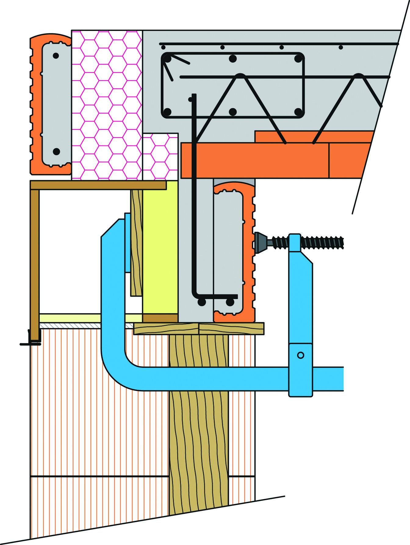 04 | Práce pred betonážou stropu