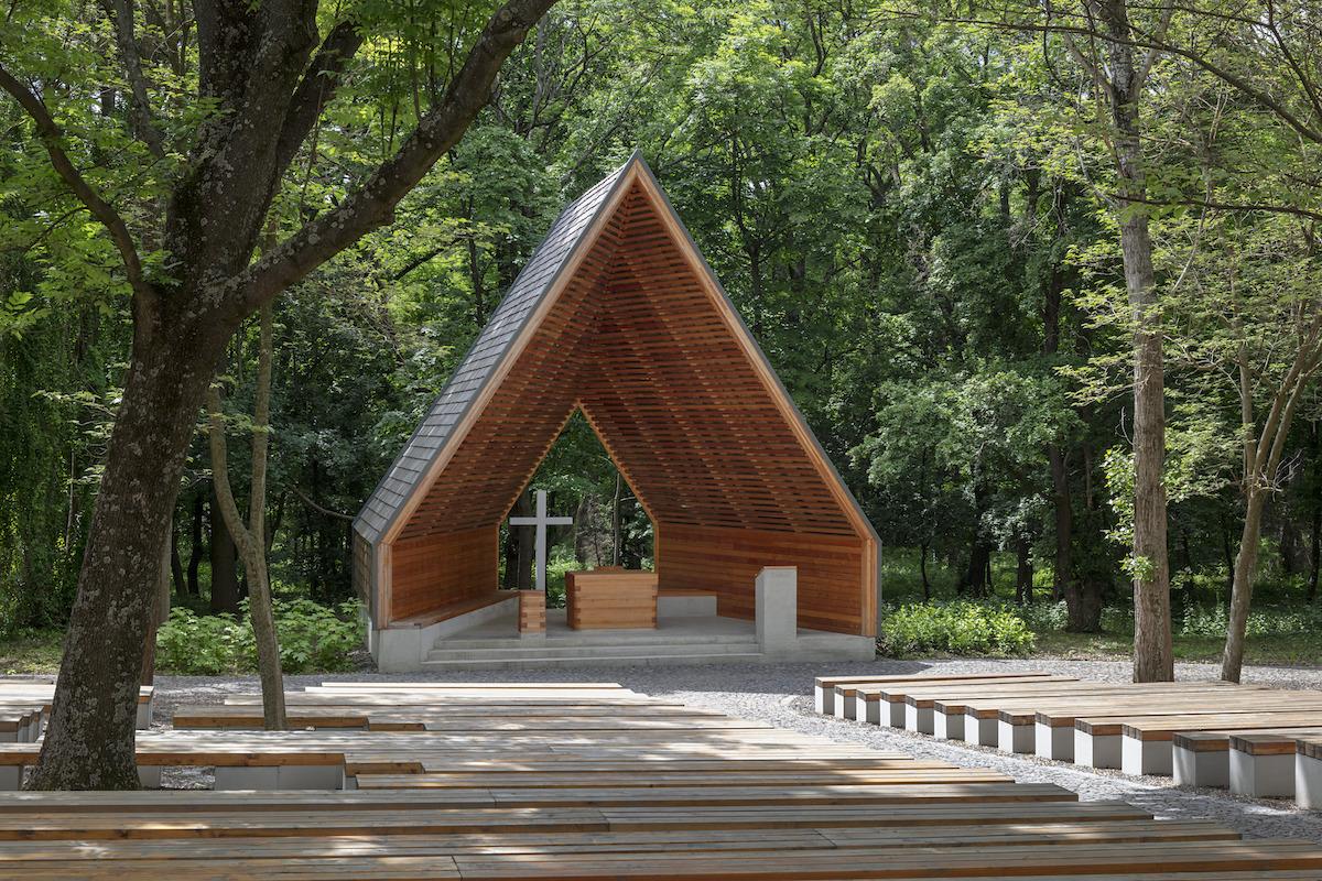Kaplnka Panny Márie z Fatimy, Alsószentiván, Maďarsko, 2019.
