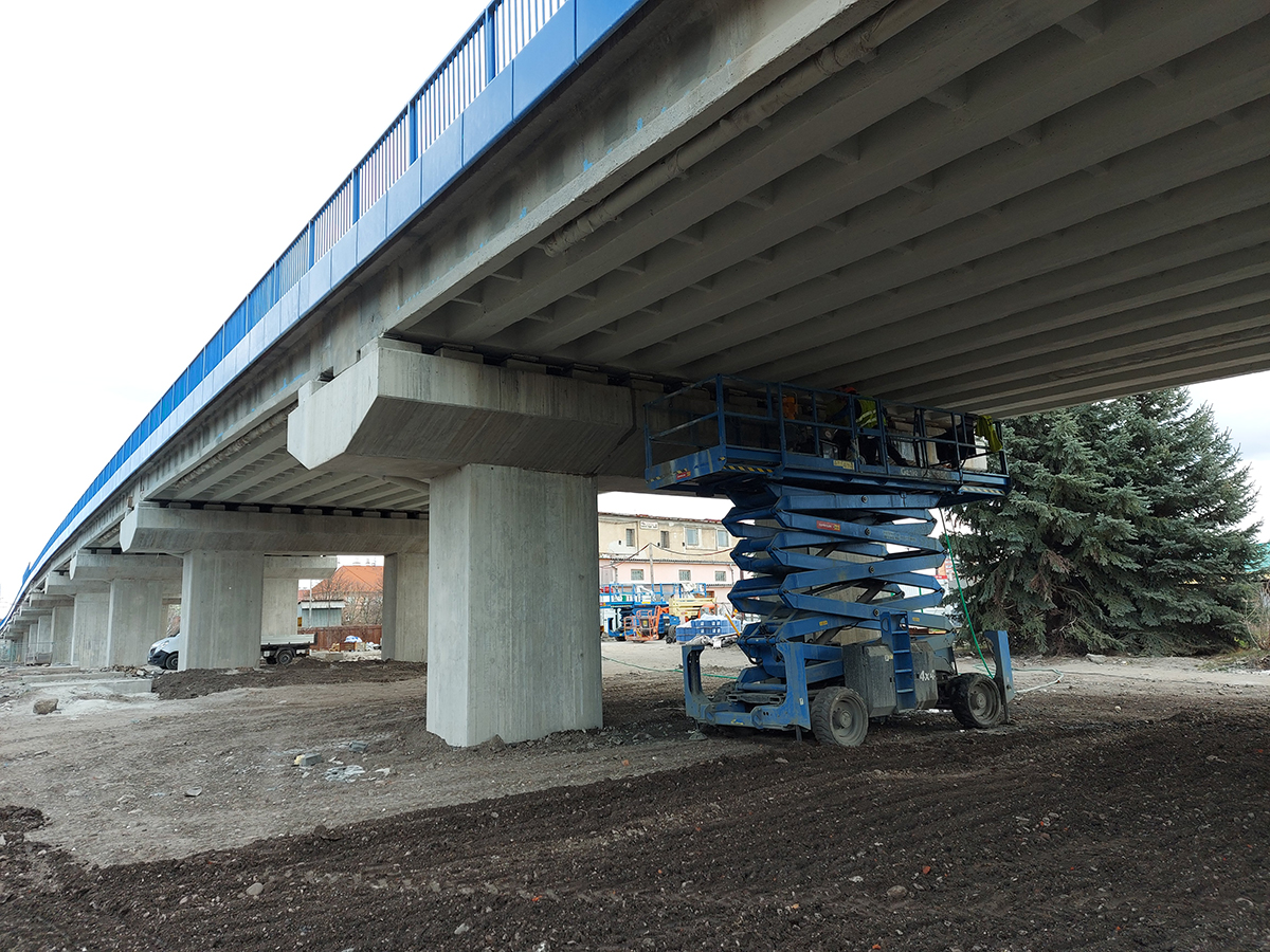 Pohľad na zosílenie spodnej stavby
