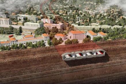 Rezopohľad navrhovanými nástupiskami ŽST Bratislava, hlavná stanica (TAROSI/Dimatz)