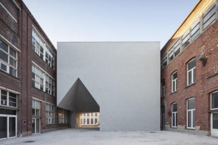 Fakulta architektúry v Tournai.
