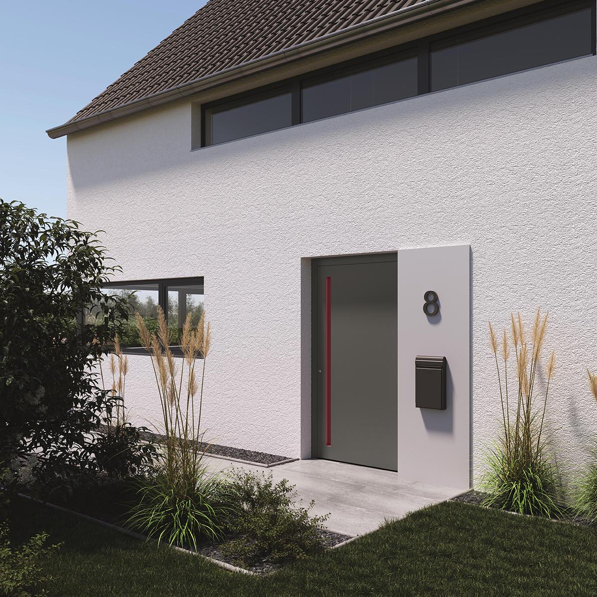 EFH Modernisierung Haustür Milieu außen