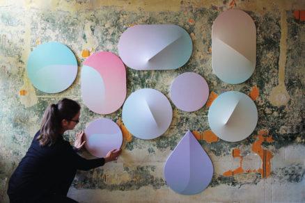 Lappa Elements – tvary panelov boli navrhnuté pre farebné a hravé kompozície na stenách kancelárií a obytných priestorov.