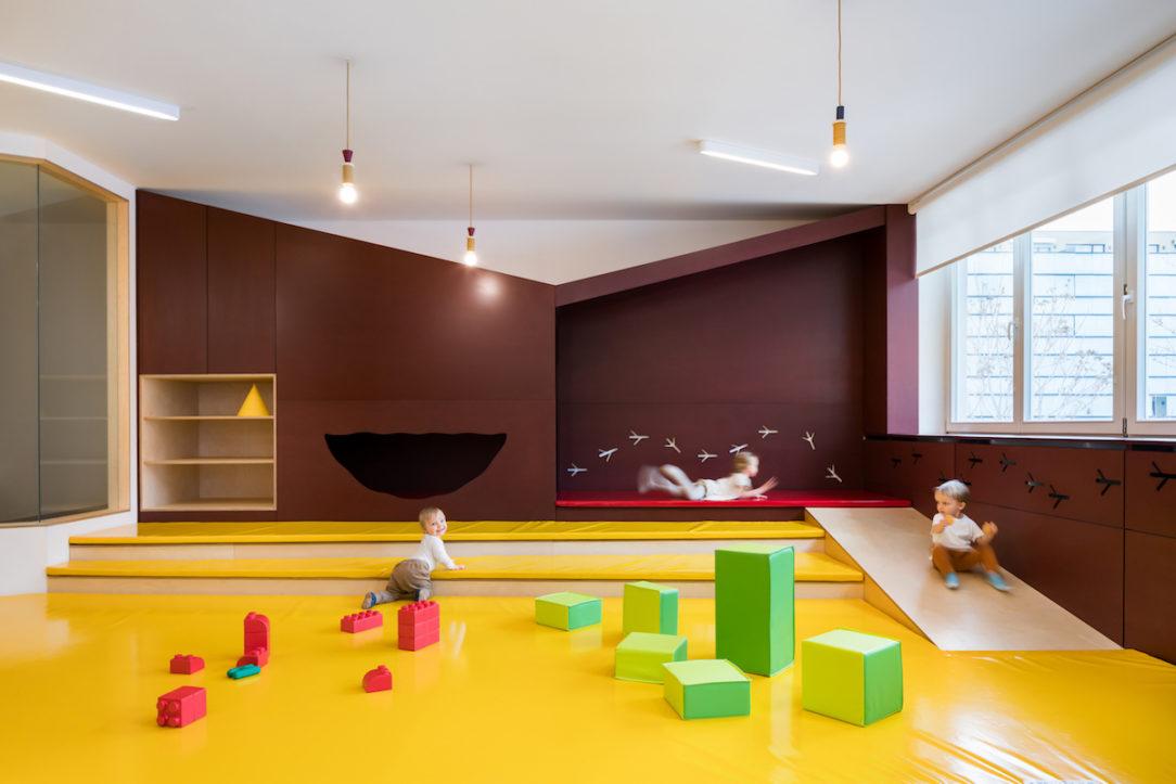 Mäkké plochy sú ohľaduplné k detským hrám.