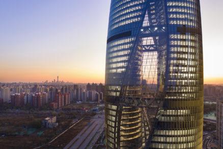 Leeza Soho v Pekingu.
