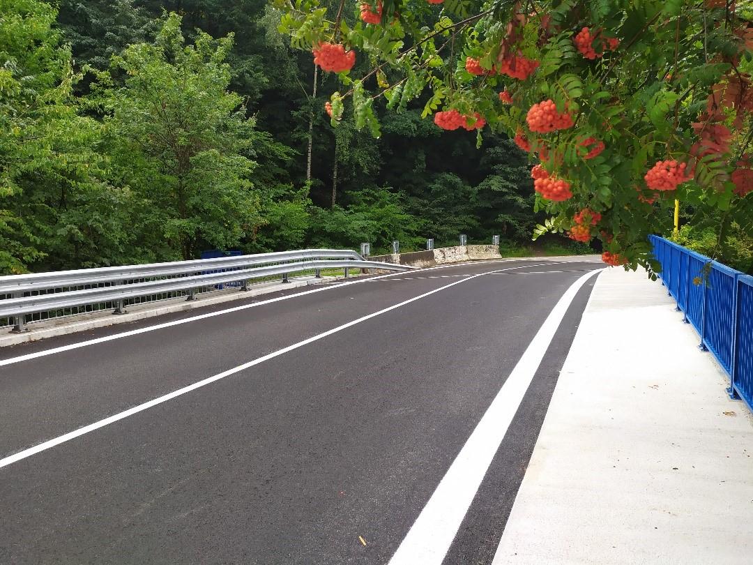 Obr. 10 Šírkové usporiadanie na moste po rekonštrukcii
