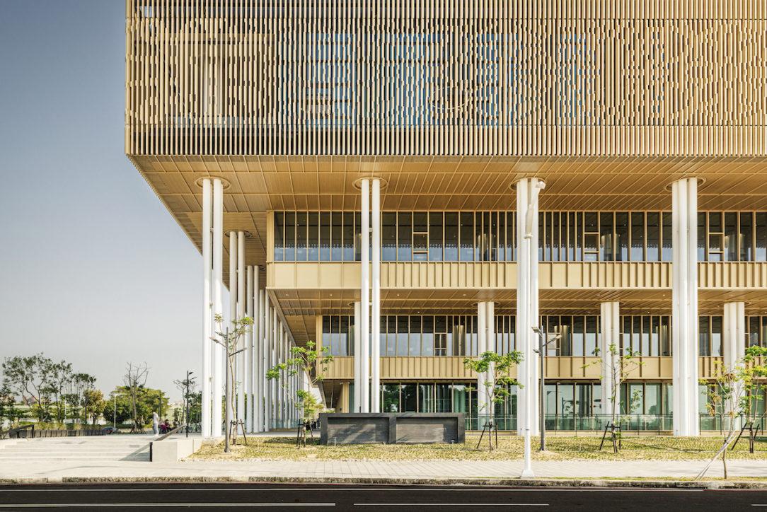 Mestská knižnica Tainan.